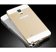Fashion Special Design High-Grade Metal Back Cover for Samsung Galaxy NOTE 4