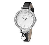 donne di moda di lusso in cristallo trasparente grande quadrante orologi dc-51011