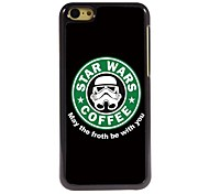 Forth Be with You Design Aluminum Hard Case for iPhone 5C