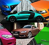 152*30CM Polymeric PVC Matte Chrome Vinyl Car Wraps Sticker Color Changing Car Sticker With Air Bubble Auto Accessories