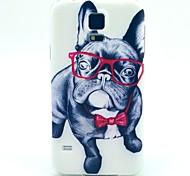 verres chien TPU affaire doux pour les Samsung Galaxy S i9600