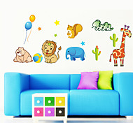 Lovely Animals Party PVC Wall Stickers Wall Art Decals