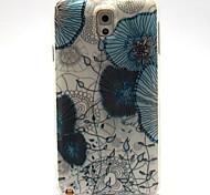 ungerade Blumenmuster ultradünnen tpu weiche Tasche für Samsung Galaxy Note 3