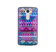 Magic Spider® Colorful Chequer Pattern Protective Plastic Hard Case Back Cover with Screen Protector for LG G3