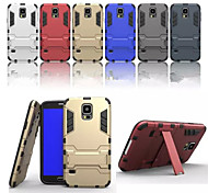 PC TPU In Stent Two-In-One Back Cover Protective Shell for Samsung Galaxy S5 I9600