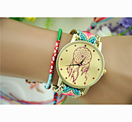 Fashion Women's Dreamcatcher National Weaving South Korea Style Chain DIY Watch