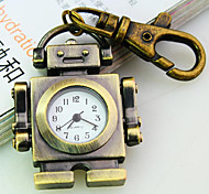Women's New Explosion Robot Shape Dial Quartz Fashion Quartz Keychain Watch