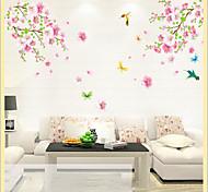 fleur de prunier sticker mural PVC