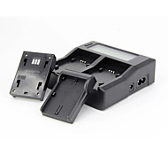 Professional USB LCD Dual Charger For OLYMPUS BLN1 Series