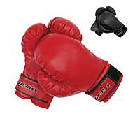 for Boxing Full-finger Gloves Shockproof Black Red