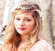 Wedding Flower Crown, Wedding Headpiece, Headband, Head Wreath, Hair Accessories,Flower Girl Flower Headband