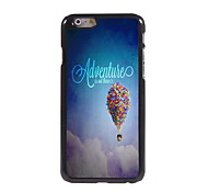 Adventure is Out There Design Aluminum Hard Case for iPhone 6