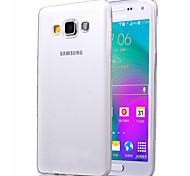 custodia morbida ultra-sottile trasparente TPU protettiva per Samsung Galaxy a5