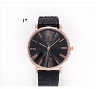 Elegant Men's Automatic Dial Skeleton Analog Date Stainless Steel Business Leather Watch