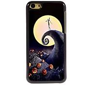 Skull Dance Design Aluminum Hard Case for iPhone 5C