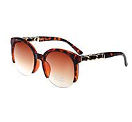 mujeres 100% UV Browline Gafas de Sol