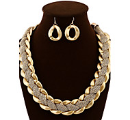 Yoonheel Women Vintage / Party / Casual Alloy / Acrylic Necklace / Earrings Sets