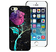 Unique Rose Design PC Hard Case for iPhone I4