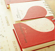 Lovely Heart  Cute/Business/Multifunction Paper Notepads Creative Notebooks (Random Color)
