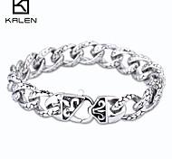 la joyería 316l brazalete de acero inoxidable de Kalen hombres
