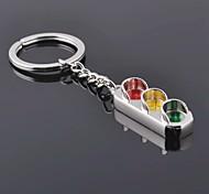 Unisex Alloy Casual Keychain Fashion Traffic Light Key Chains