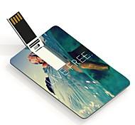 64gb tarjeta de diseño libre unidad flash usb en directo