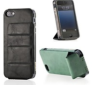 """CDN """"Deluxe G"""" Man Made Leather Case for iPhone 5/5S"""