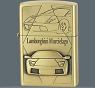 Sports Car Series Kerosene Lighter Relief Style (Pattern Randomly Shipped)