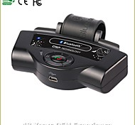 High Quality Bluetooth Handsfree Car Kit, Bluetooth2.0/Car Charger/With 300mAh Li-ion Battery