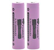 Batteria - Ioni di litio 18650 - 5000mAh - ( mAh )