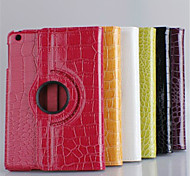360⁰ Cases/Copertine intelligenti - Pelle di coccodrillo - Mela mini iPad 2/mini iPad 3 - DI Cuoio -