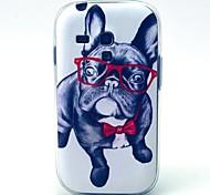 Augen Hund Muster weiche Tasche für Samsung-Galaxie S3 i8190 Mini