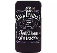Whisky mustern Hartschalenetui für Samsung Galaxy s6 Rand