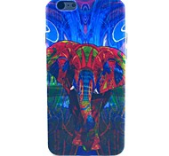 Dream Of The Elephant Pattern TPU Soft Case for iPhone 5C