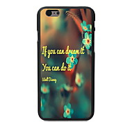 You Can Do it Design PC Hard Case for iPhone 6