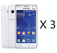 (3 Pcs) High Quality High Definition Screen Protector for Samsung Galaxy Core 2 G355H/G3556D/G3558/G3559
