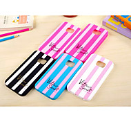 Silicone Material Double Vertical Mixing Color Design for Samsung Galaxy S6 (Assorted Colors)