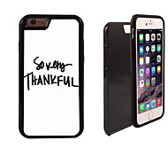 So Very Thankful Design 2 in 1 Hybrid Armor Full-Body Dual Layer Shock-Protector Slim Case for iPhone 6