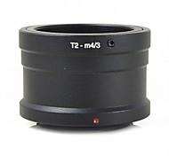 mengs® T2-m4 / 3 байонет кольцо адаптера для T2 т объектива Olympus E-P1 и Panasonic GF1 g1 gx1- m4 / 3 камеры тело