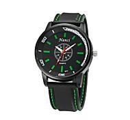 relogio sport degli uomini masculino orologi moda del silicone di sport della vigilanza grande quadrante dell'orologio del quarzo