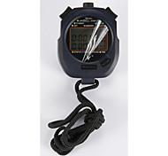 elektronische Stoppuhr pc3830a drei Reihe 30 Speicher Stoppuhr Stoppuhr Bewegung
