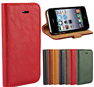 PU Wallet Following from Bark Grain Imports for iPhone 4/4S(Assorted Color)