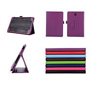 8 inch lichee patroon stand case voor Samsung Galaxy Tab als T350 sm-T350 / T351 (verschillende kleuren)