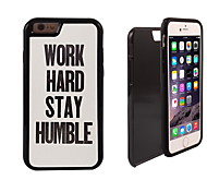 Work Hard Design 2 in 1 Hybrid Armor Full-Body Dual Layer Shock-Protector Slim Case for iPhone 6 Plus