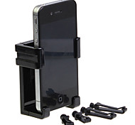 soporte de coche retráctil teléfono, teléfono celular del enchufe del coche soporte (5.8-8.5cm)