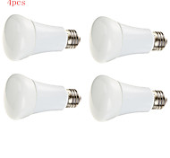 4pcs HRY® 9W E27 24XSMD5630 850LM LED Globe Bulbs LED Light Bulbs(220V)