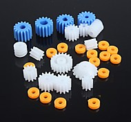 Kinds of Plastic Gear Motor Gear Robot Parts DIY Model KIT