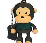 YOUWO Mouth Monkey Cartoon USB  Personality U Disk full Capacity USB  16GB SP0017801