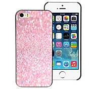 Pink Sand Design Aluminum Hard Case for iPhone 5C
