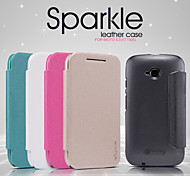 NILLKIN Sparkle Series Flip Ultra-thin PU Leather Cover Shell for MOTO E2(XT1505)